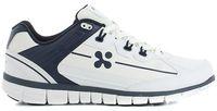 OXYPAS-Herren-Arbeits-Berufs-Schuhe, Sneakers, Henny, weiss/dunkelblau