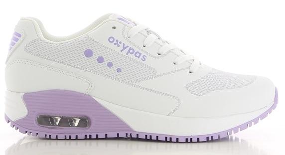 OXYPAS-Damen-Arbeits-Berufs-Schuhe, Sneaker, ESD, ELA, fuchsia