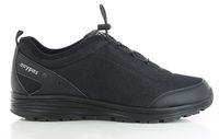 OXYPAS-Herren-Arbeits-Berufs-Schuhe, Sneaker, James, schwarz