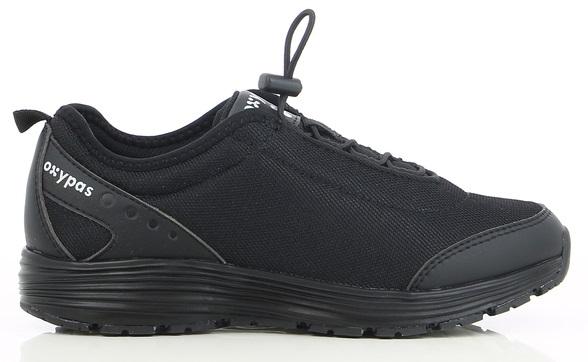 OXYPAS-Damen-Arbeits-Berufs-Schuhe, Sneaker, Maud, schwarz