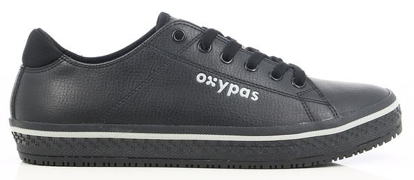 OXYPAS-Damen-Arbeits-Berufs-Schuhe, ESD, Paola, schwarz