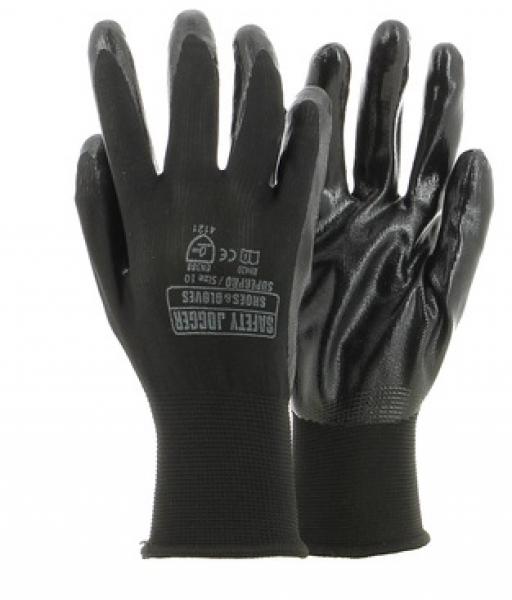 STRONGHAND Handschuh Portland Nitril Gr 8 Airsoft Funsport