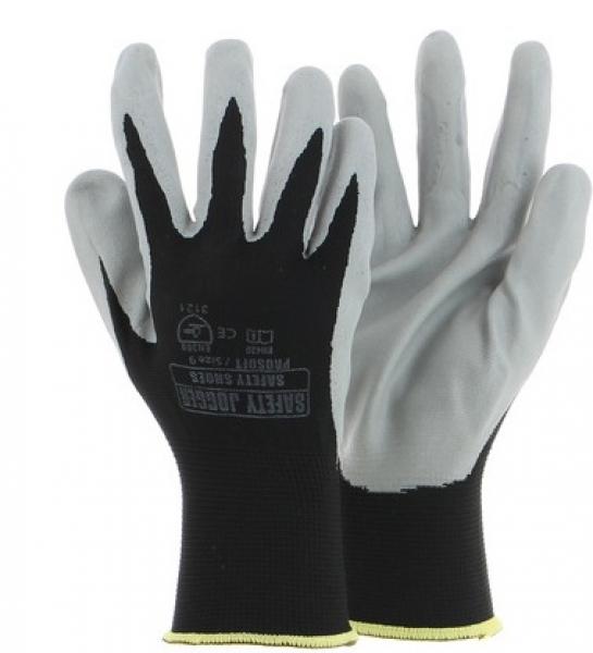 SAFETY JOGGER--Arbeits-Handschuhe, PROSOFT 3121, grau/schwarz