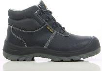 SAFETY JOGGER-S3-Sicherheitsschnürschuhe, hoch, Bestboy, schwarz