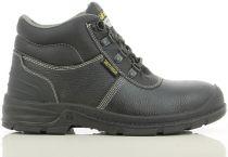 SAFETY JOGGER-S3-Arbeits-Berufs-Sicherheits-Schuhe, Schnürschuhe, hoch, Bestboy2, schwarz