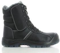 SAFETY JOGGER-S3-Winter-Arbeits-Berufs-Sicherheits-Schuhe, Schnürschuhe, Nordic, schwarz