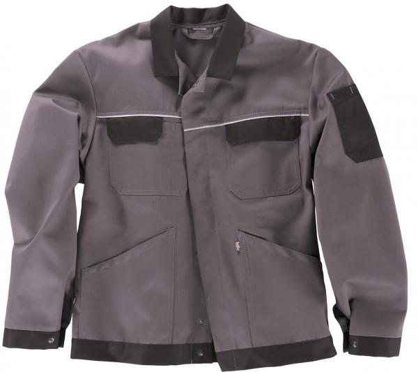 BEB-Arbeits-Berufs-Bund-Jacke, Classic, MG 245, grau/schwarz