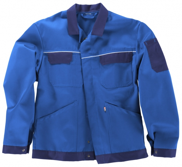 BEB-Arbeits-Berufs-Bund-Jacke, Classic, MG 245, kornblau/marine