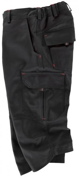 BEB-3/4 Hose, Arbeits-Berufs-Shorts, Premium, 300 g/m², schwarz