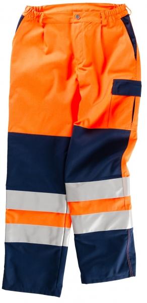 BEB-Warn-Schutz-Arbeits-Berufs-Hose, MG 270, warnorange