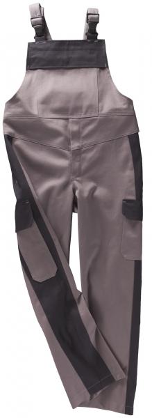 BEB-Schweißer-Arbeits-Schutz-Berufs-Latzhose, PSA-Schweißer, BW 330, grau/schwarz