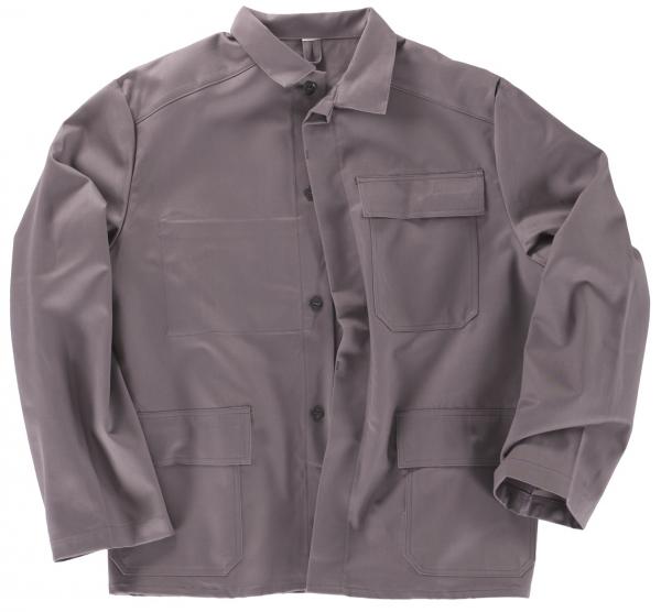 BEB-PSA-Schweißer-Arbeits-Schutz-Berufs-Jacke, BW 335, grau