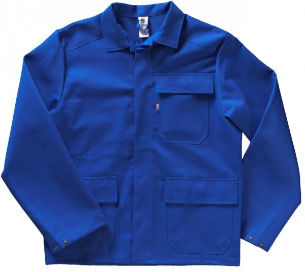 BEB-PSA-Schweißer-Arbeits-Schutz-Berufs-Jacke, BW 335, kornblau