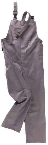 BEB-Schweißer-Arbeits-Schutz-Berufs-Latzhose, PSA-Schweißer, BW 335, grau