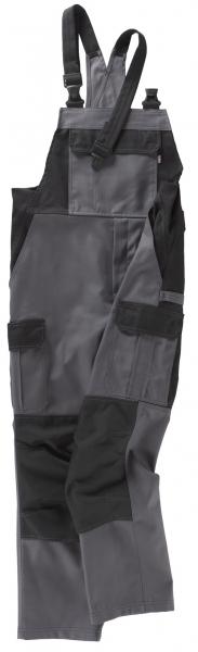 BEB-Arbeits-Berufs-Latz-Hose, Premium, MG 300, grau/schwarz
