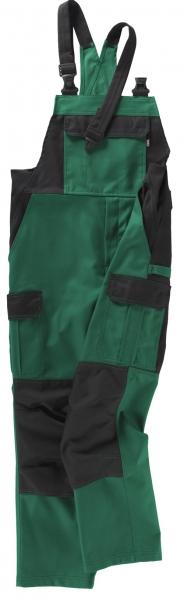 BEB-Arbeits-Berufs-Latz-Hose, Premium, MG 300, grün/schwarz