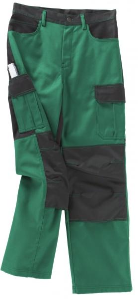 BEB-Arbeits-Berufs-Bund-Hose, Premium, MG 300, grün/schwarz