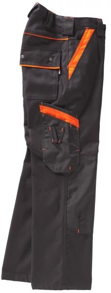 BEB-Arbeits-Berufs-Bund-Hose, Premium, MG 325, schwarz/orange