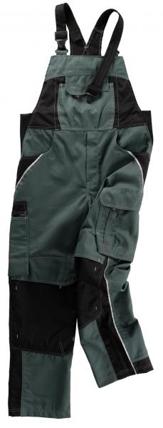 BEB-Arbeits-Berufs-Latz-Hose, Inflame, MG 245, spruce green/schwarz