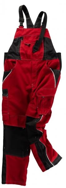 BEB-Arbeits-Berufs-Latz-Hose, Inflame, MG 245, fire engine red/schwarz