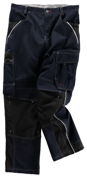 BEB-Arbeits-Berufs-Bund-Hose, Inflame, MG 245, blue shadow/schwarz