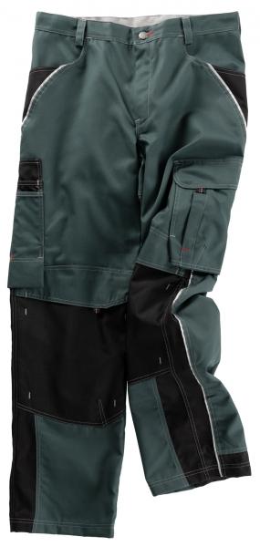 BEB-Arbeits-Berufs-Bund-Hose, Inflame, MG 245, spruce green/schwarz