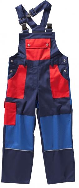 BEB-Kinderlatzhose, BW 245, marine/rot