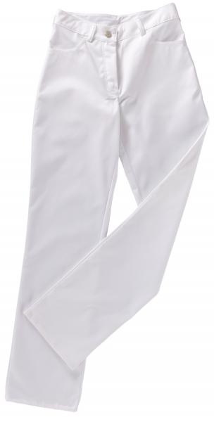 BEB-Bundhose, Damen-Arbeits-Berufs-Hose, Jeansstil, MG 245, weiß