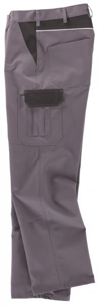 BEB-Arbeits-Berufs-Bund-Hose, Classic, MG 245, grau/schwarz