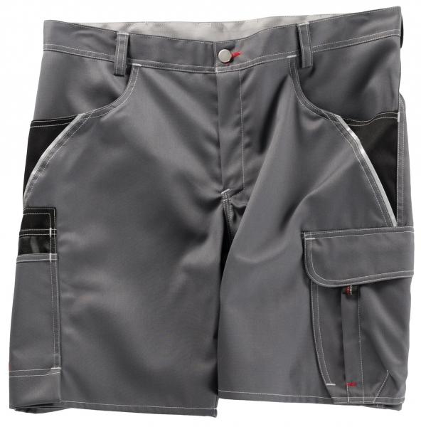 BEB-Arbeits-Berufs-Shorts, Inflame, 245 g/m², grau/schwarz