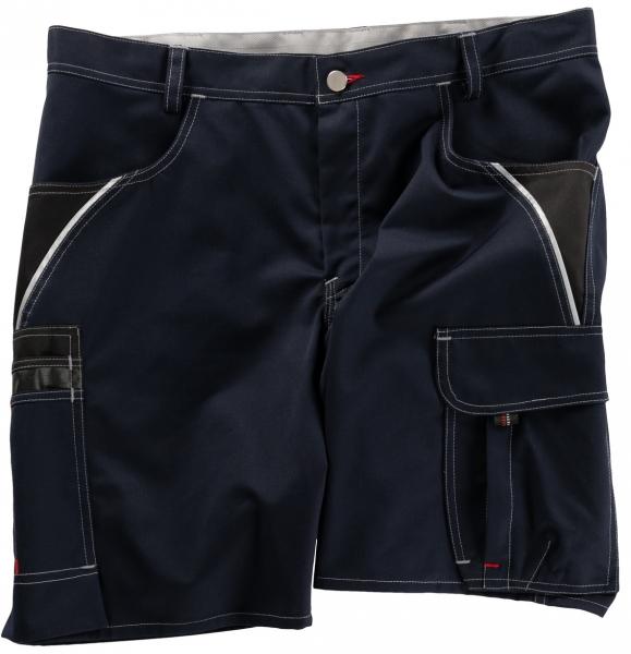 BEB-Arbeits-Berufs-Shorts, Inflame, 245 g/m², blue shadow/schwarz