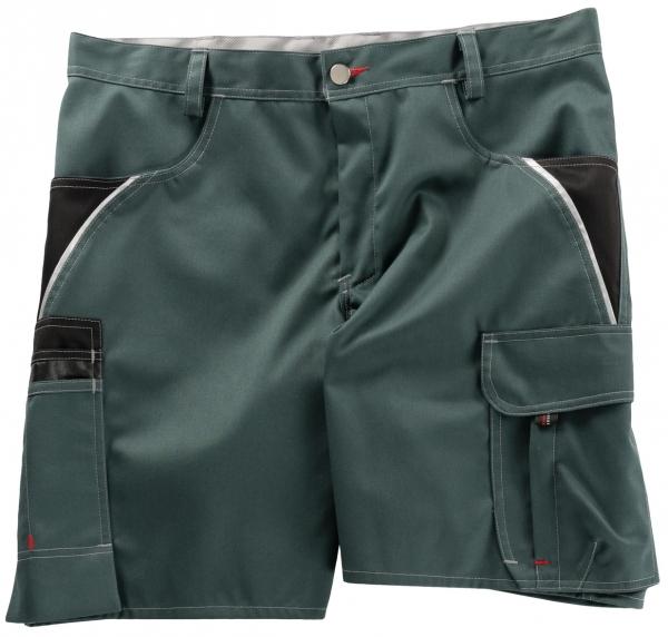 BEB-Arbeits-Berufs-Shorts, Inflame, 245 g/m², spruce green/schwarz