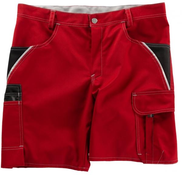 BEB-Arbeits-Berufs-Shorts, Inflame, 245 g/m², fire engine red/schwarz