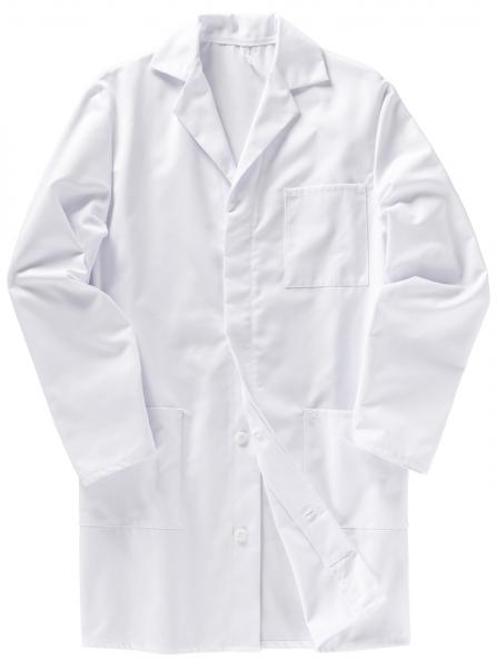 BEB-Herren-Arbeits-Berufs-Mantel, Herrenkittel, MG 210, weiß