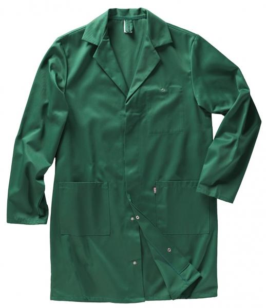 BEB-Basic-Herren-Berufs-Mantel, Arbeits-Kittel, Basic, MG 245, grün