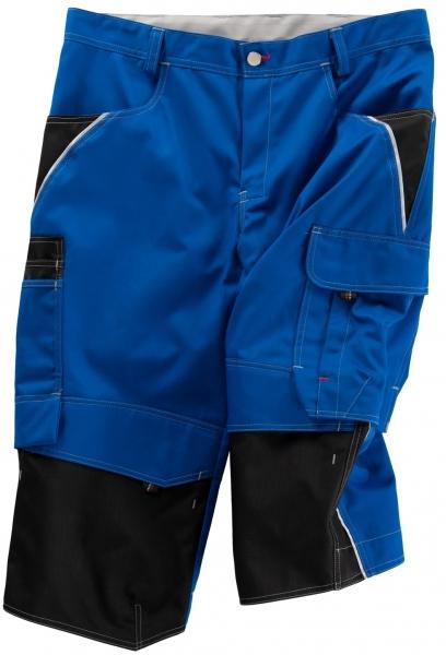 BEB-Piratenhose, Arbeits-Berufs-Shorts, Inflame, 245 g/m², kornblau/schwarz