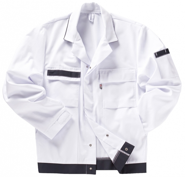 BEB-Maler-Arbeits-Berufs-Bund-Jacke, Comfort, MG 245, weiss/marine