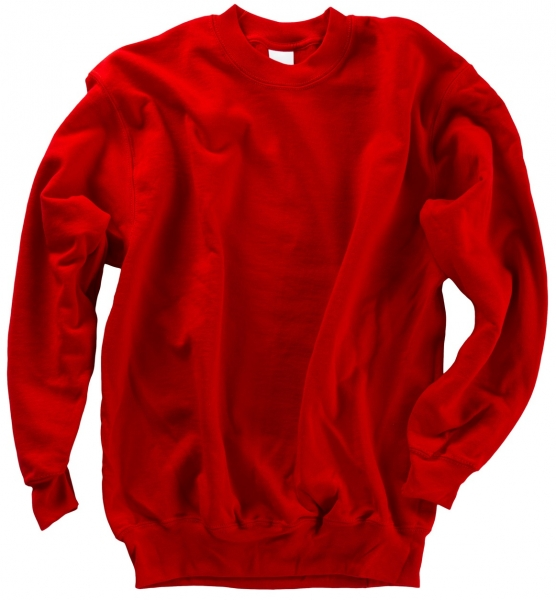 BEB-Sweat-Shirt Classic, MG 260/280, rot