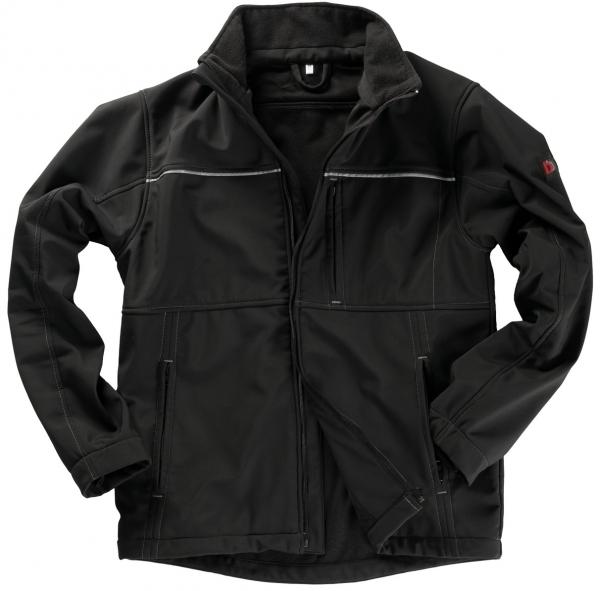 BEB-Softshell-Arbeits-Berufs-Jacke, INFLAME, 290 g/m², schwarz