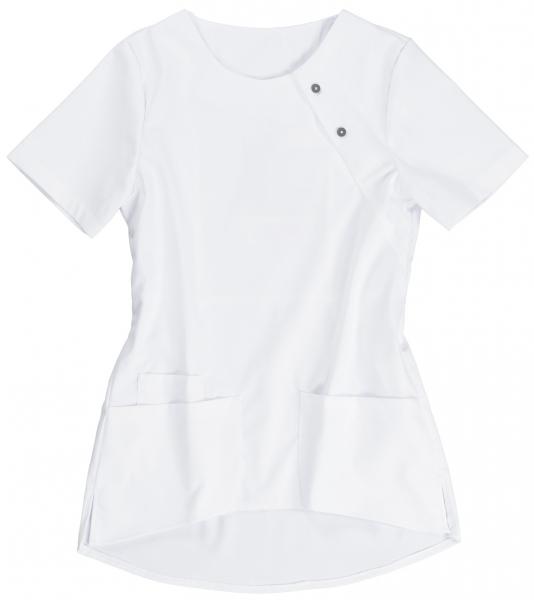 BEB-Damenkasack Stretchgewebe, 215 g/m², weiß