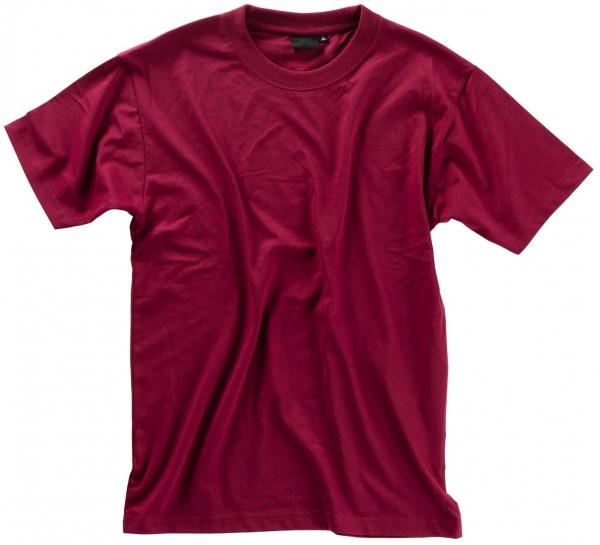 BEB-T-Shirt Premium für Damen und Herren, bordeaux