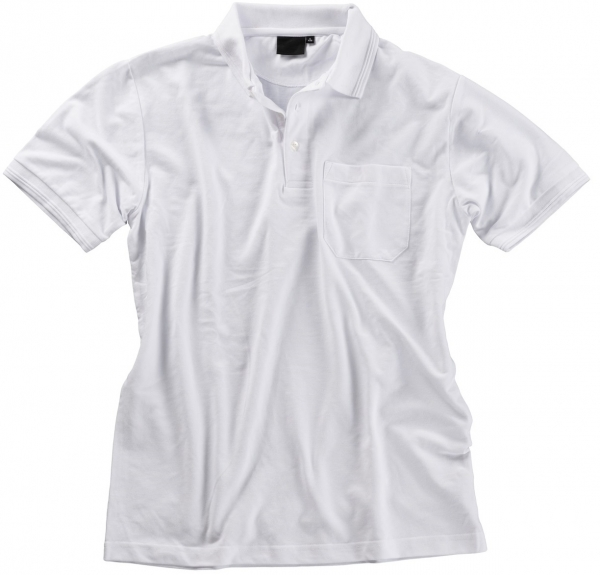 BEB Polo-Shirt Premium, MG 210/220, weiß
