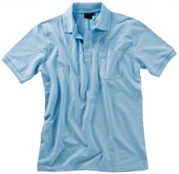 BEB Polo-Shirt Premium, MG 210/220, hellblau