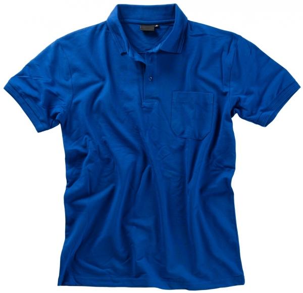 BEB Polo-Shirt Premium, MG 210/220, kornblau
