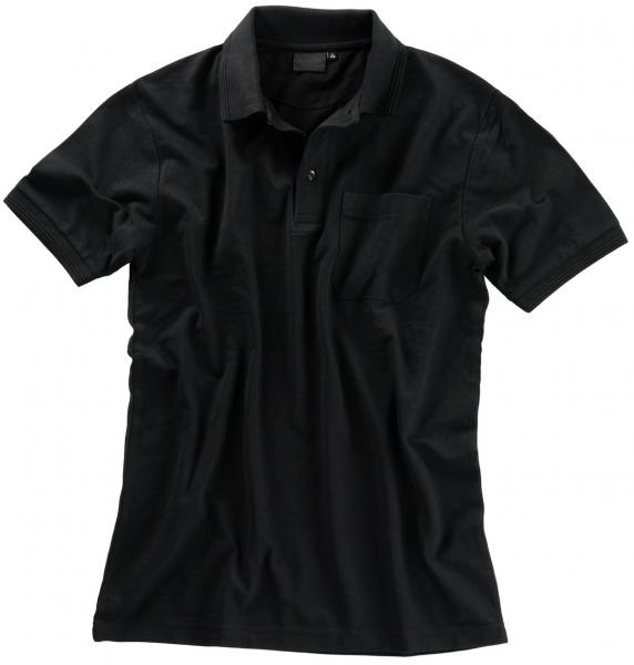 BEB Polo-Shirt Premium, MG 210/220, schwarz