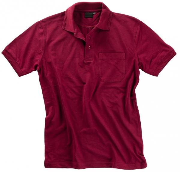 BEB Polo-Shirt Premium, MG 210/220, bordeaux