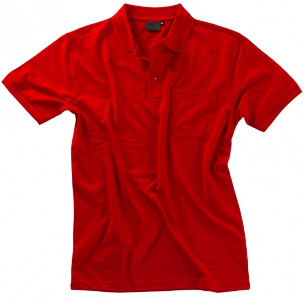 BEB Polo-Shirt Premium, MG 210/220, rot