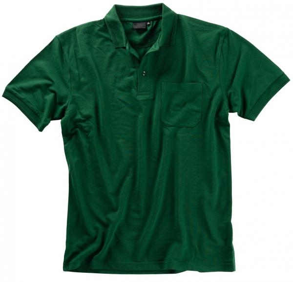 BEB Polo-Shirt Premium, MG 210/220, flaschengrün