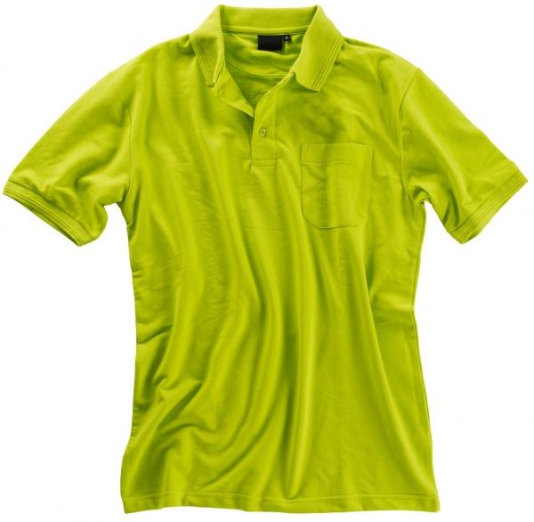 BEB Polo-Shirt Premium, MG 210/220, lime