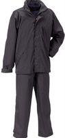 OCEAN-Regen-Nässe-Wetter-Schutz-Anzug, Set, Freizeitanzug, Deluxe, schwarz